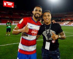 Yangel Herrera y Darwin Machís, dos de las figuras del Granada CF.