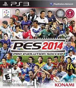 Rómulo Otero en la portada del PES 2014