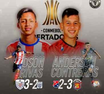 Edson Rivas y Anderson Contreras