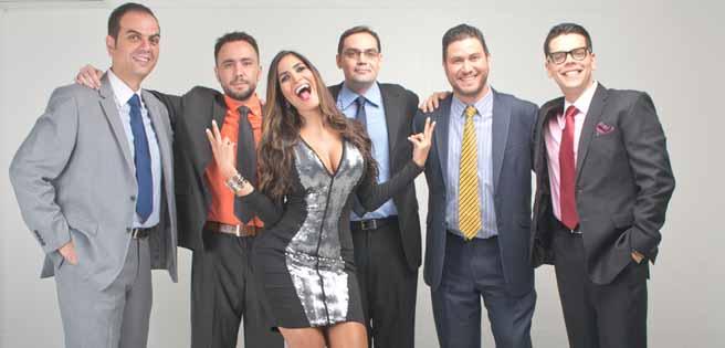Staff de Meridiano TV.