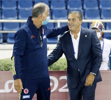 José Peseiro y su compatriota Carlos Queiroz
