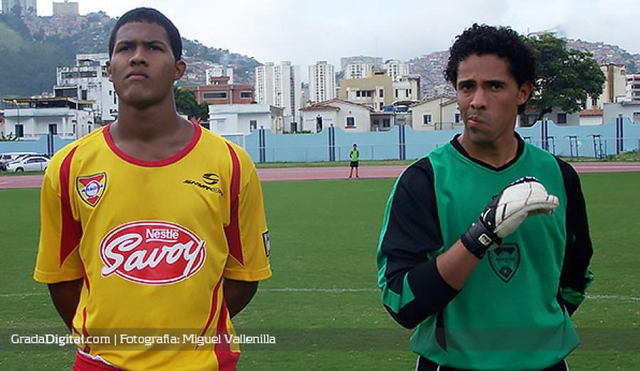 Salomón Rondón con el Aragua, foto de Grada Digital.