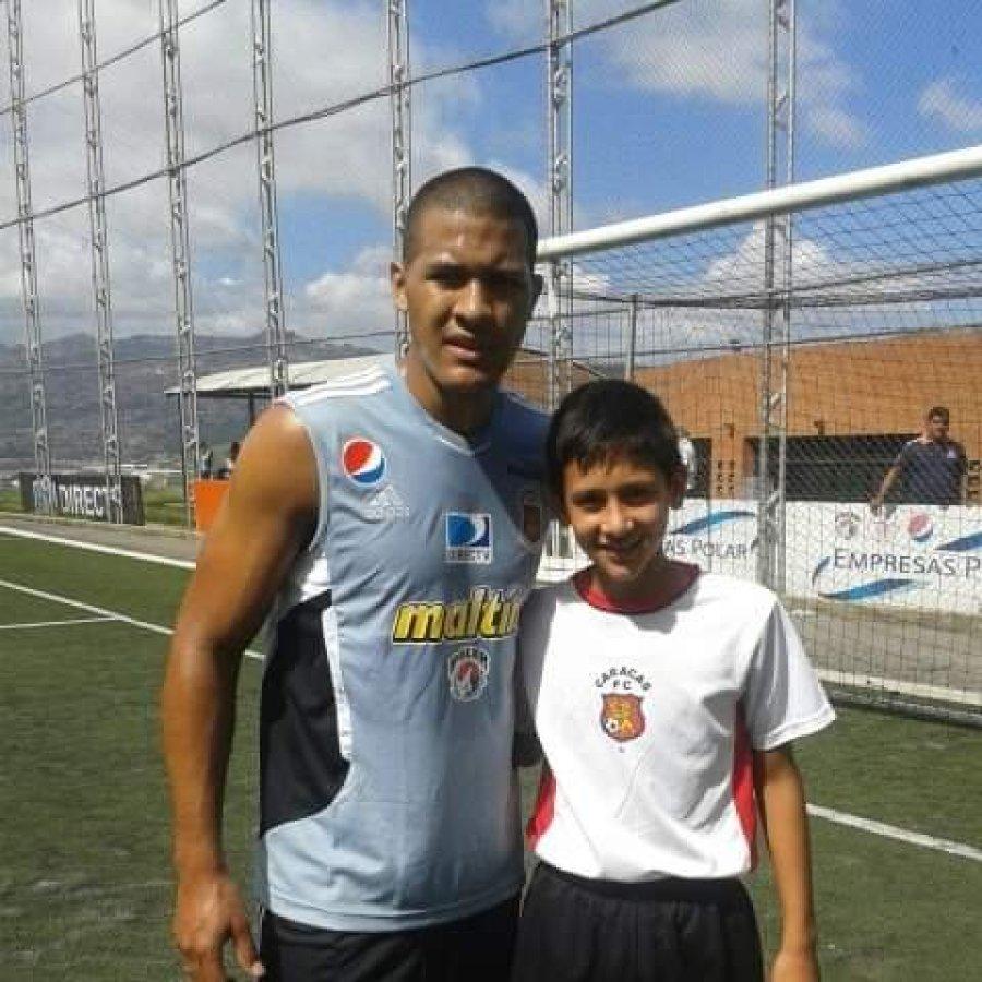 Salomón Rondón y Anderson Contreras.