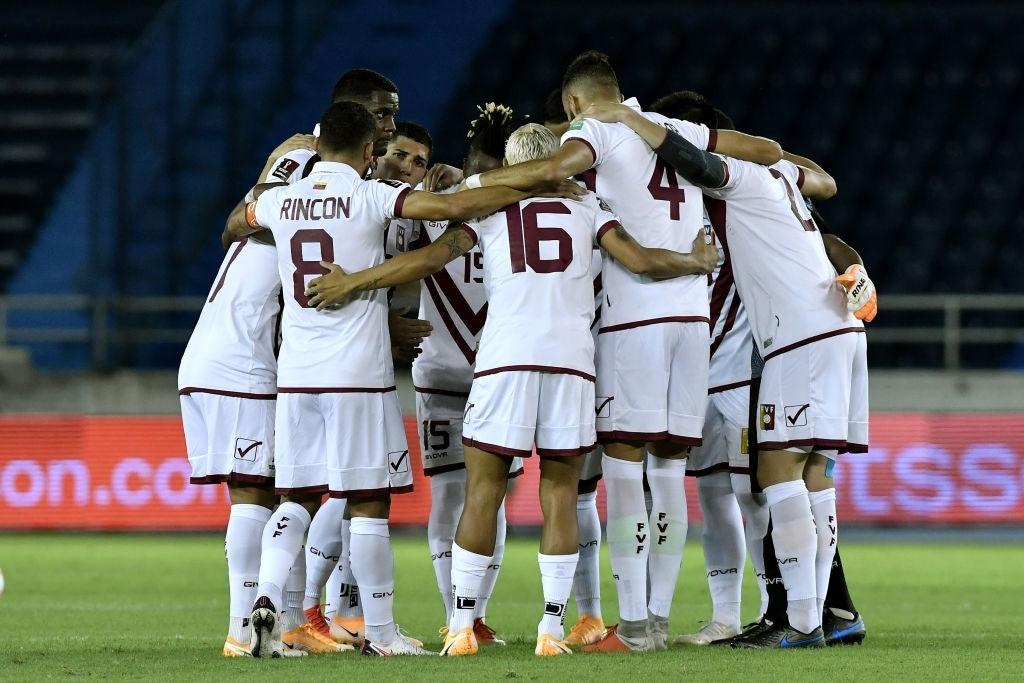 La Vinotinto en las Eliminatorias a Qatar 2022.