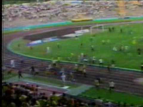 Pueblo Nuevo en la final del 2000 entre Táchira y Caracas FC.