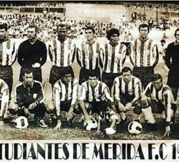 Estudiantes de Mérida en 1971