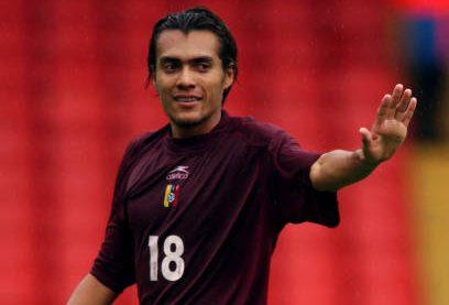 Juan Arango en el duelo de Venezuela contra Nigeria