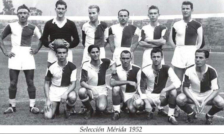 Selección Mérida, 1952