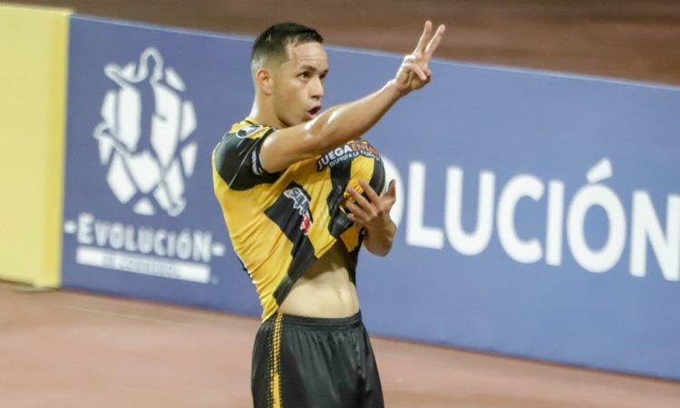 Nelson Hernández, jugador del Deportivo Táchira