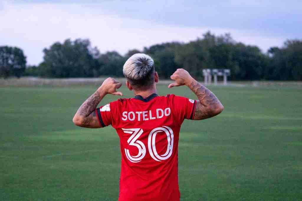 Yeferson Soteldo llevará la 30 del Toronto FC