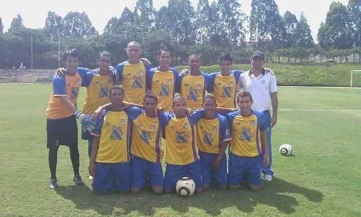 Adrián Martínez con el Caroní FC
