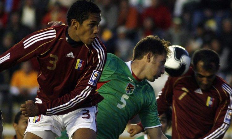 Grenddy Perozo en el Bolivia 0-1 Venezuela de 2009