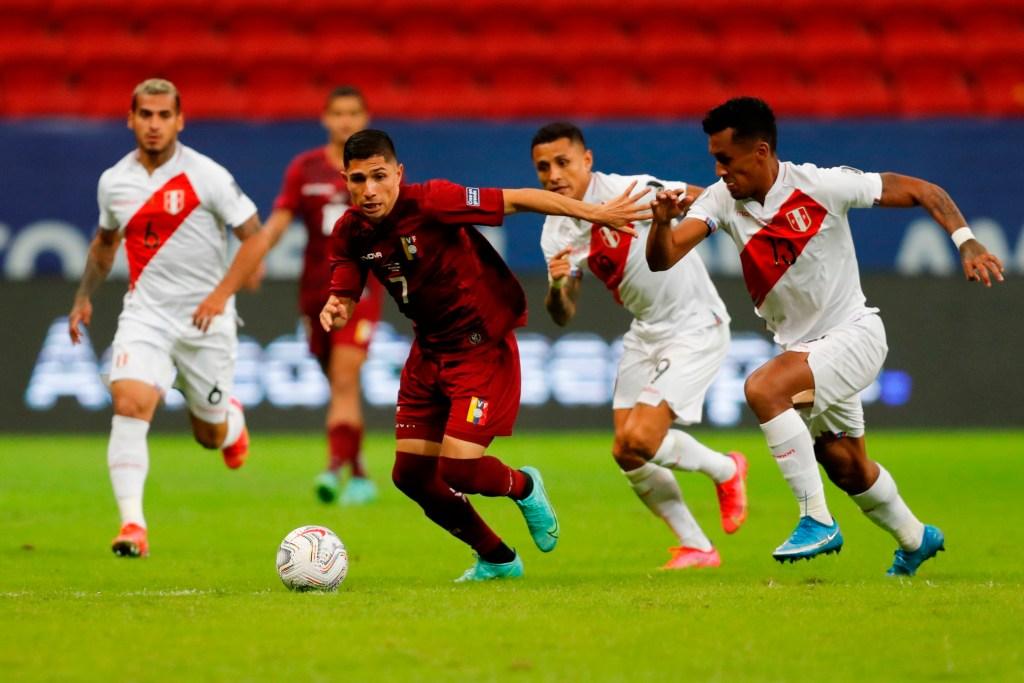 Jefferson Savarino - Foto Copa América