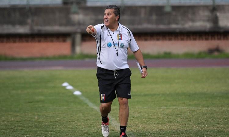 José Peseiro, DT de la Vinotinto - Foto FVF