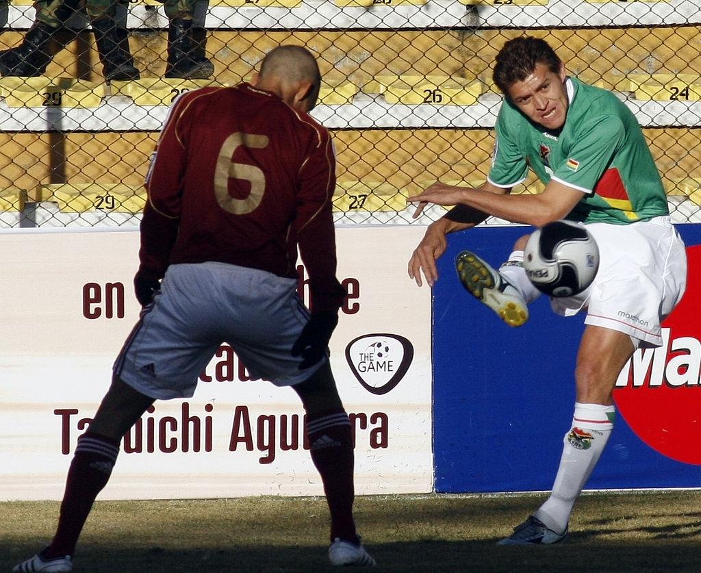 Bolivia 0-1 Venezuela en 2009