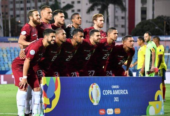 La Vinotinto - Foto Conmebol Copa América