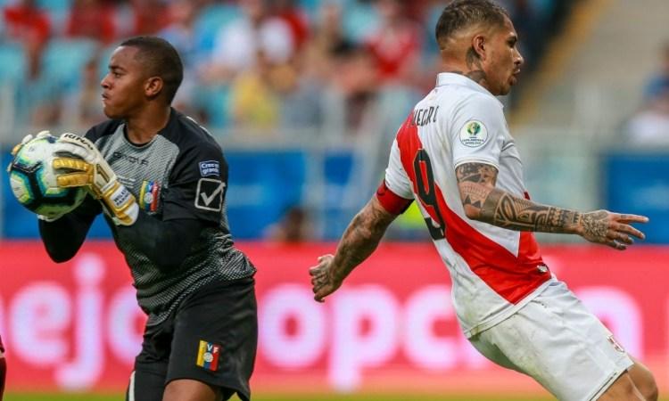 Venezuela vs Perú en la Copa América 2019
