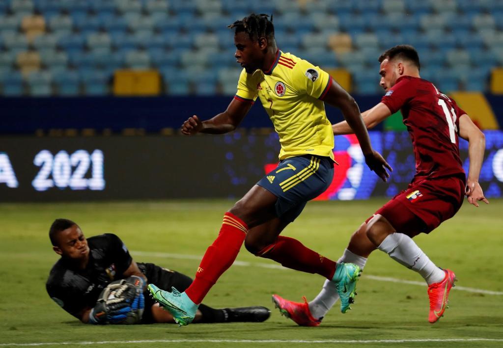 Wuilker Faríñez - Foto Conmebol Copa América