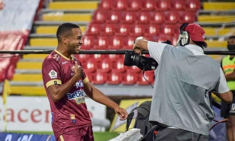 Yohandry Orozco con Deportes Tolima