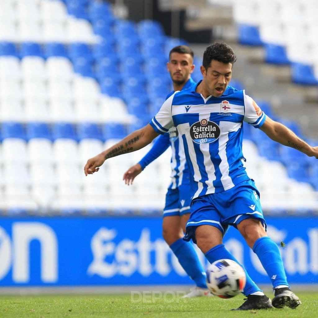 Miku Fedor viene de hacer 7 goles con el Deportivo La Coruña la pasada campaña