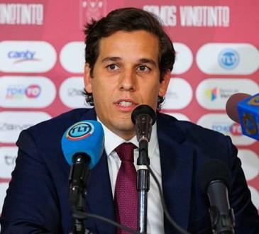 Jorge Giménez, presidente de la FVF