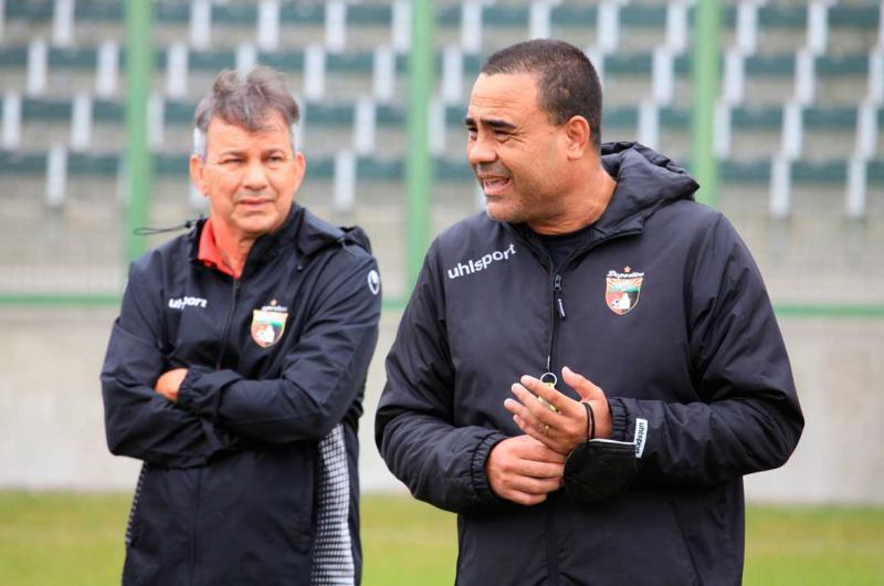 Leo González y Pedro Vera