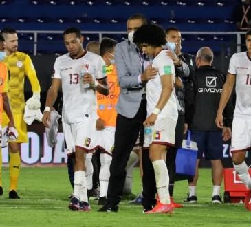 La Vinotinto tras la derrota ante Paraguay