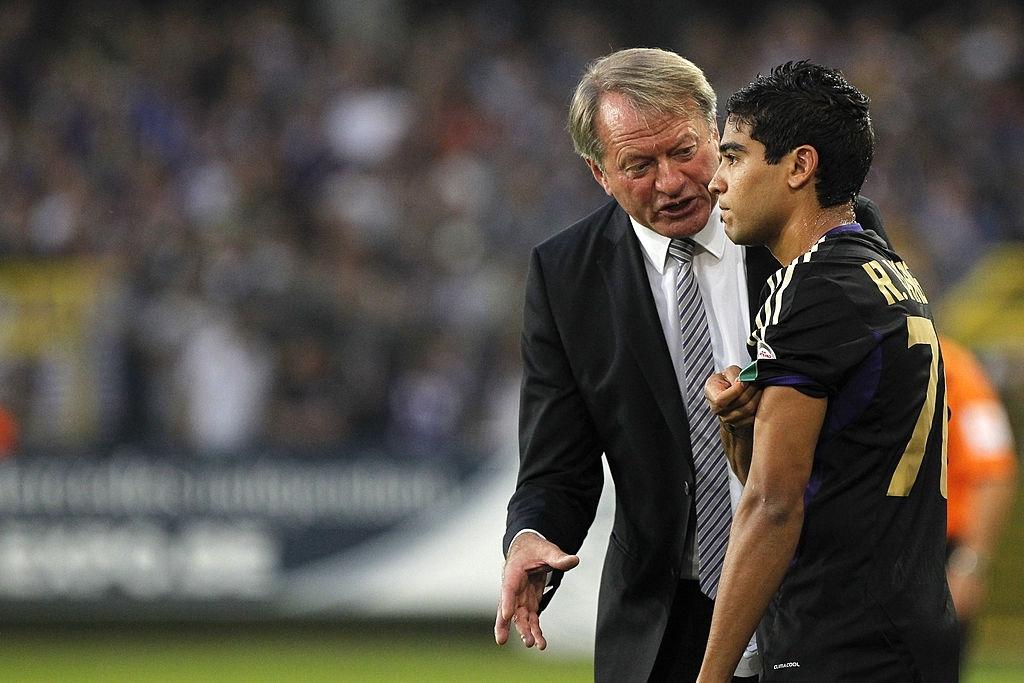 Ronald Vargas con Anderlecht
