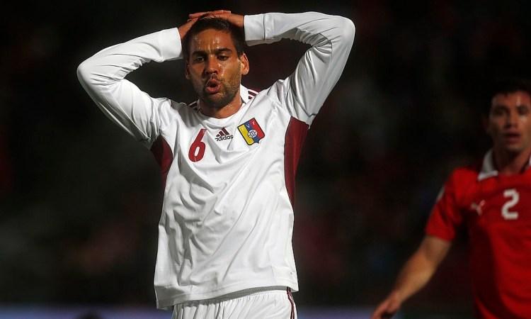 Gabriel Cichero en el Chile vs Venezuela de las Eliminatorias a Brasil 2014