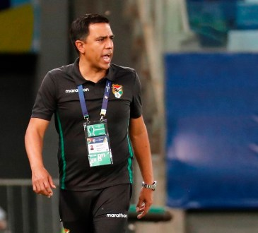 César Farías, seleccionador venezolano de Bolivia