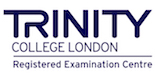 Logo de examen trinity college london registered examination centre