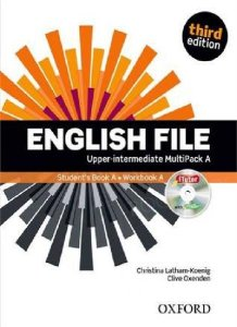 portada libro english file intermedio alto A