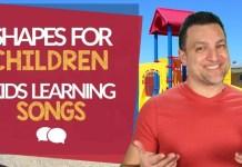 Músicas Infantis em Inglês - Aprendendo Formas em Inglês