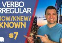 verbo irregular know