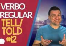 verbo irregular tell