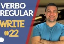 verbo irregular write