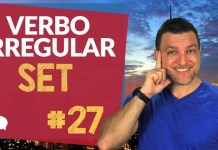 verbo irregular set