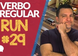 verbo irregular run