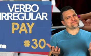 verbo irregular pay
