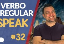 verbo irregular speak