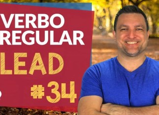 verbo irregular lead