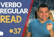 verbo irregular read