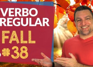 verbo irregular fall