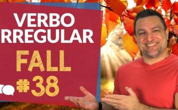 verbo irregular fall
