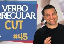 verbo irregular cut