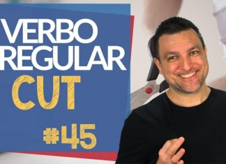 verbo irregular cut