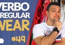 verbo irregular wear