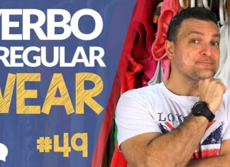 verbo irregular wear