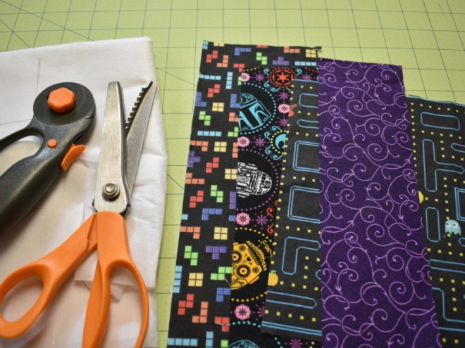 Fabric Bookmarks Tools and Materials
