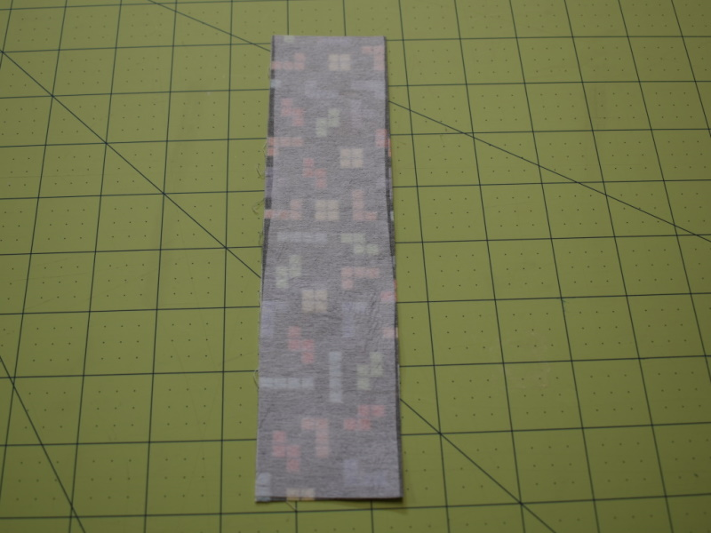 Fabric Bookmarks Step 2